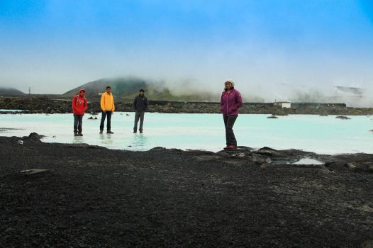 the Blue Lagoon(Geothermal Spa in Reykjavik)