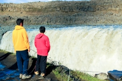 mighty Dettifoss- most powerful waterfall of the Europe
