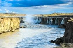 Selfoss- a beautiful small waterfall near Dettifoss (I strongly advise not to miss this one)