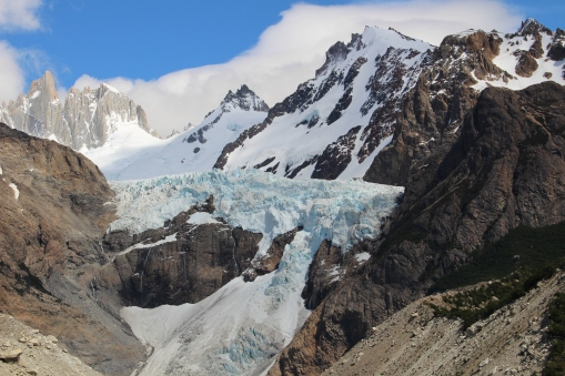 Views from Glacier Piedras Blancas