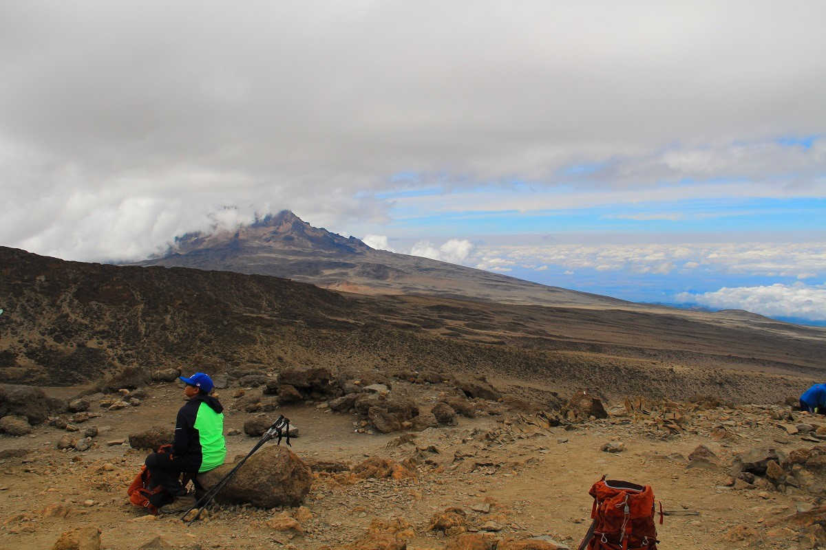 Journey above the Clouds- Kilimanjaro, Lemosho Day 6