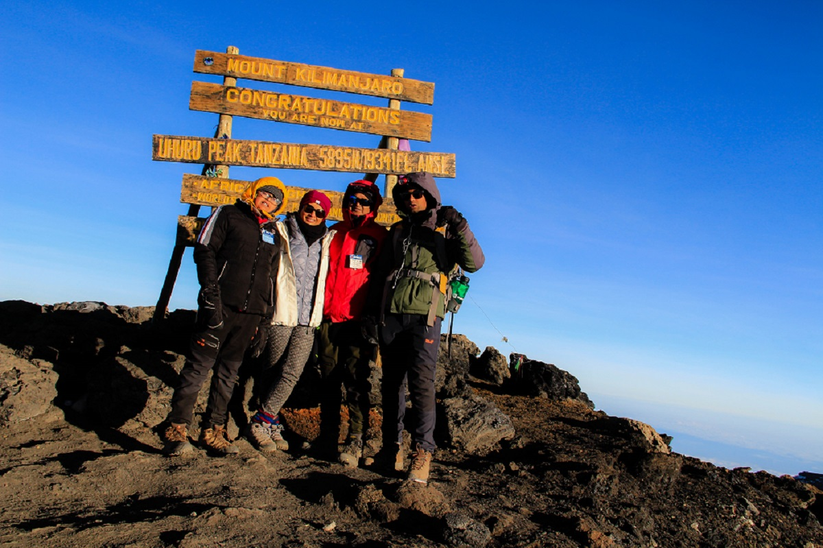 Journey above the Clouds-Summit Night-Kilimanjaro, Lemosho Day 7