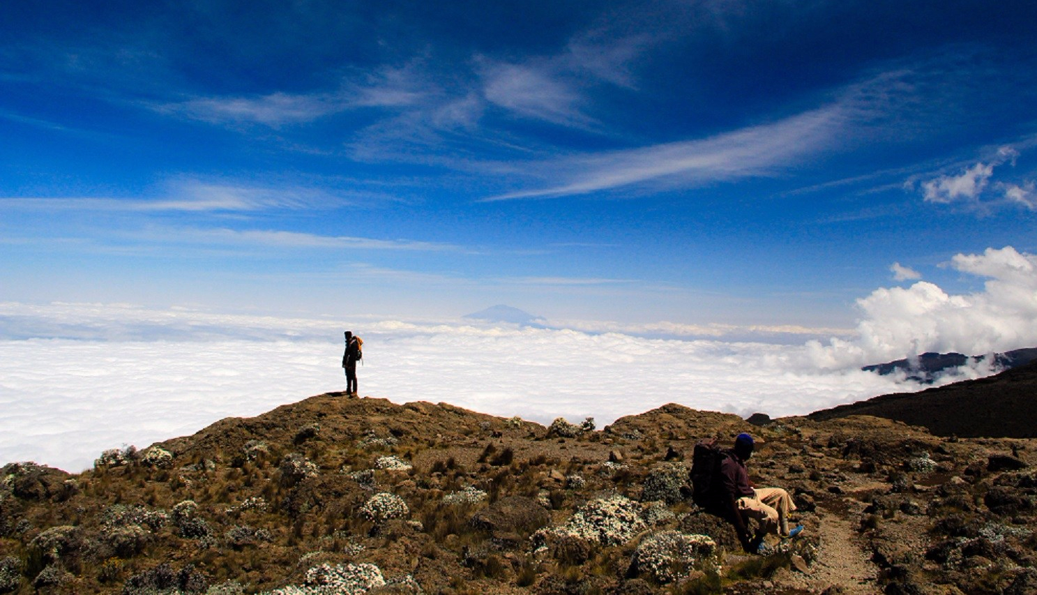 Journey above the Clouds- Kilimanjaro, Lemosho Day 5