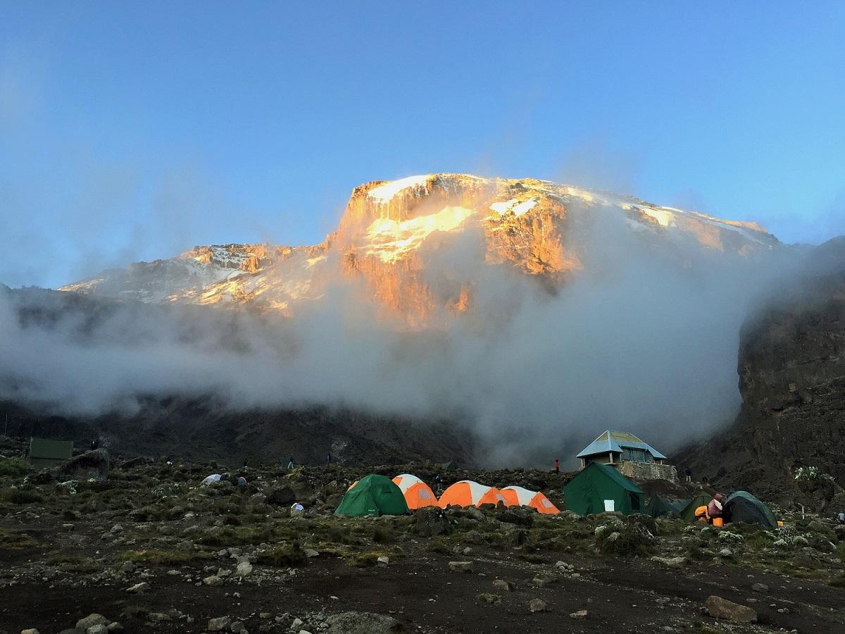 Journey above the Clouds- Kilimanjaro, Lemosho Day 4