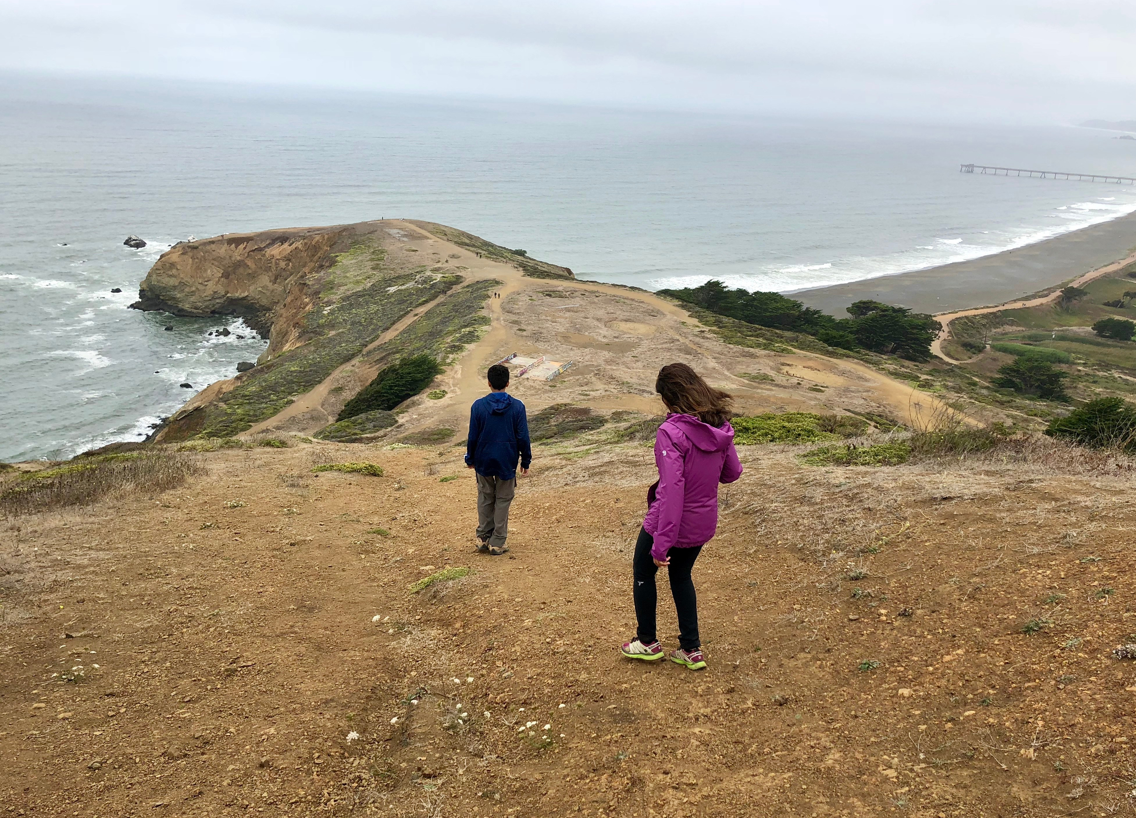 Mori Point, Pacifica- Beaches and Bluffs