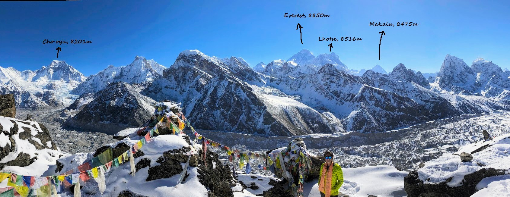 Gokyo, Day 9: An unforgettable scene atop Gokyo Ri